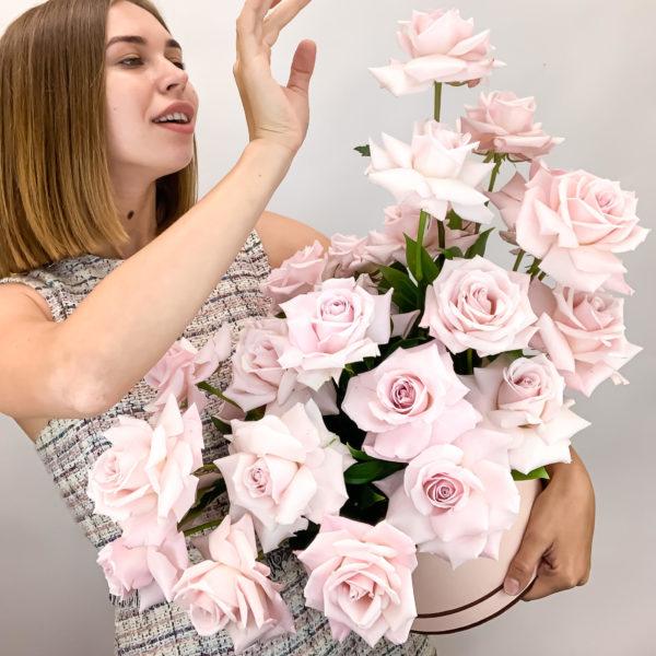 Коробка Облако из Роз фото