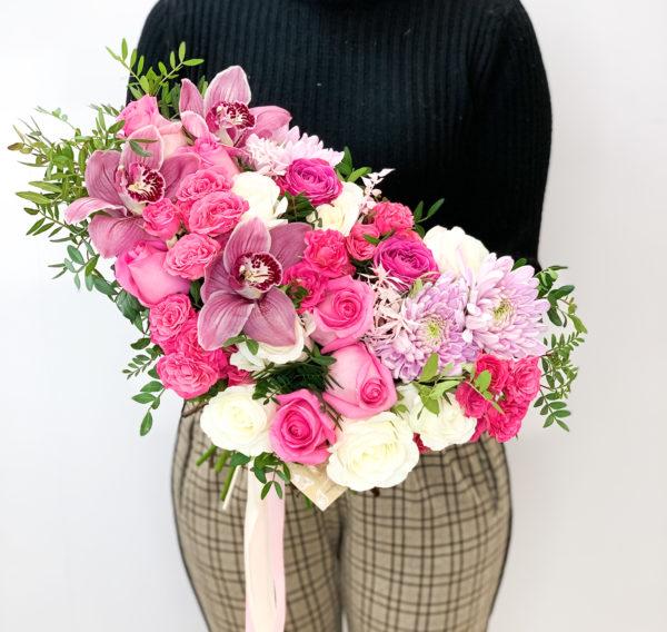 Букет Розовый фламинго фото