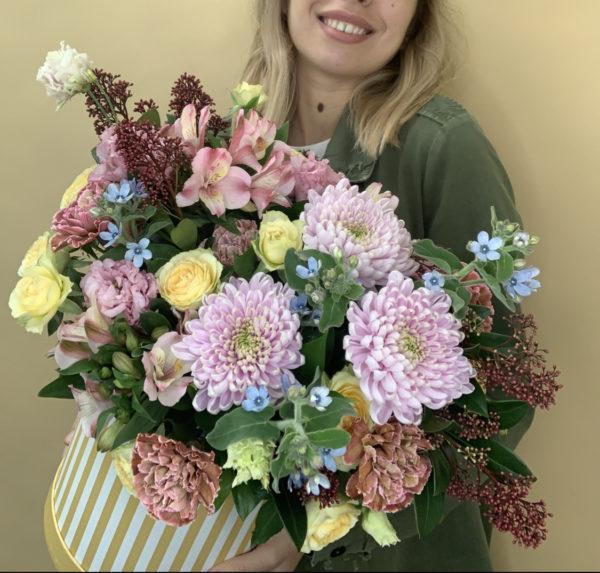 Коробка цветов Поляна фото